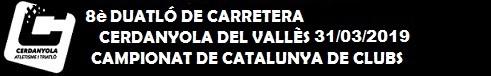 Duatló de Cerdanyola 31 Març 2019 - Campionat de Catalunya de clubs