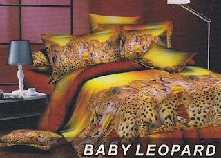 Sprei Fata Baby Leopard