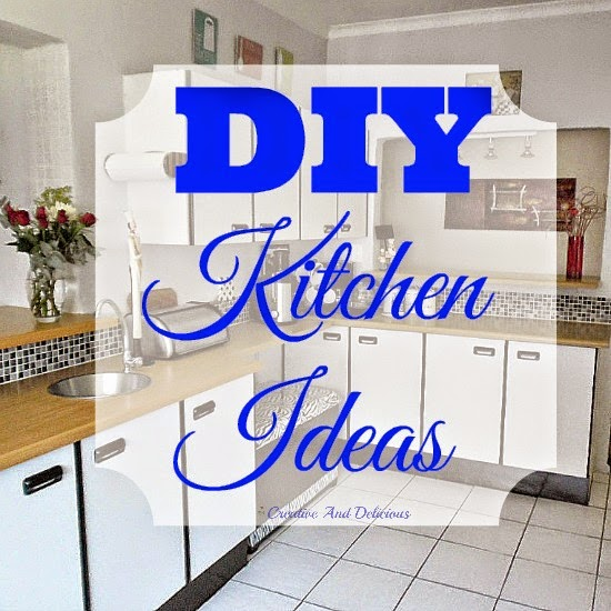DIY Kitchen Ideas ~ Easy & Do-Able DIY Ideas for Your Kitchen ! #KitchenMakeover #Storage #Organizing #SlidingCabinets #SlidingPantry