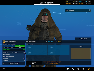 Ghost Recon Online - Four Upgrade Slots