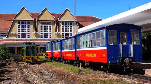 Xe lửa Phố núi