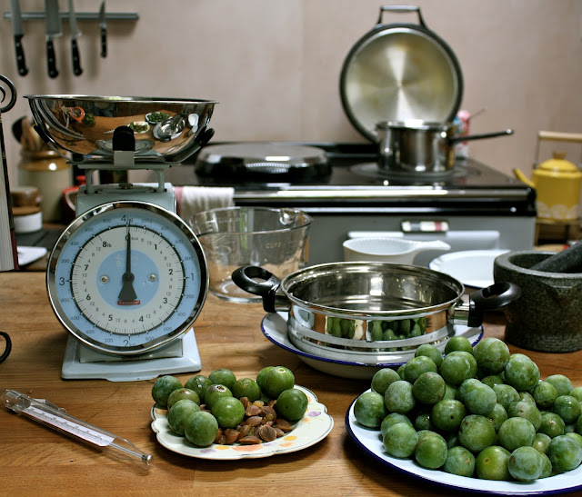 preserving greengages