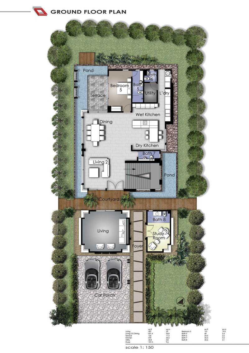Bungalow layouts joy studio design gallery best design for Funeral home blueprints