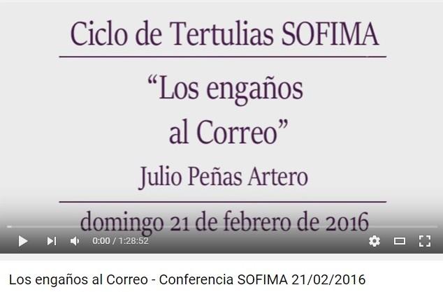 LOS ENGAÑOS AL CORREO (JULIO PEÑAS ARTERO)