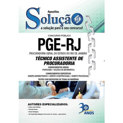 Apostila Concurso PGE-RJ Técnico Processual 2015 PDF