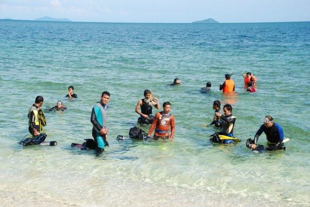 Puluhan  Penyelam Ramaikan Lemukutan Camp