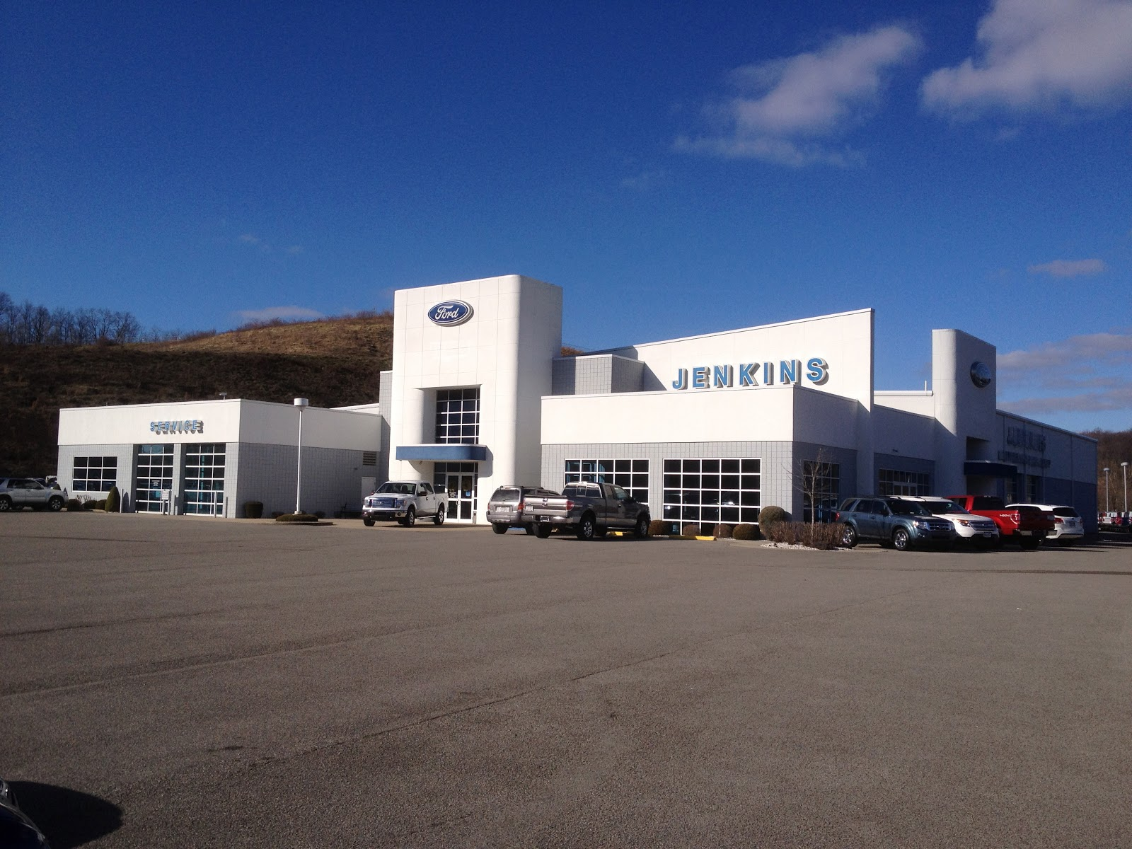Front Of Jenkins Ford