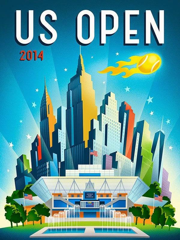 Maria Sharapova, Novak Djokovic, Rafael Nadal, Roger Federer, Serena Williams, Simona Halep, sport, tenisz, US Open,