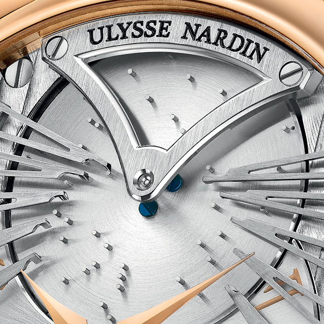 Ulysse Nardin Stranger Watch detail