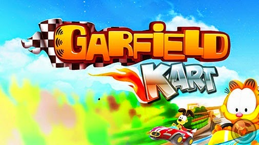Garfield Kart Game