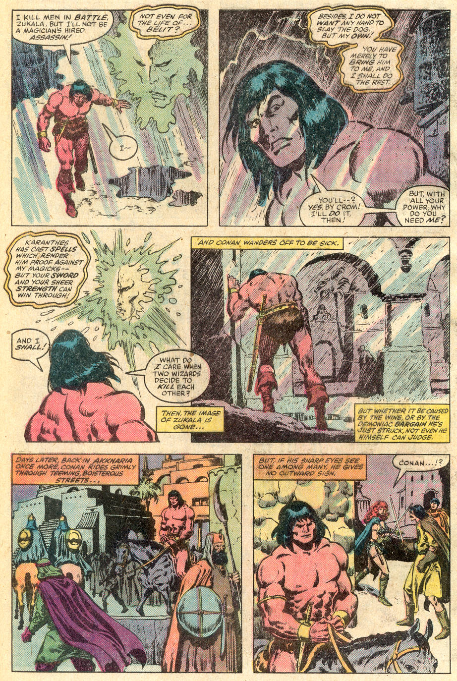 Conan the Barbarian (1970) Issue #115 #127 - English 15