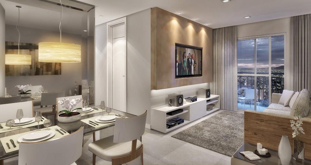 Dois Ambientes Sala De Estar E Tv ~ Essa proposta de integração entre ambientes é menos formal e busca