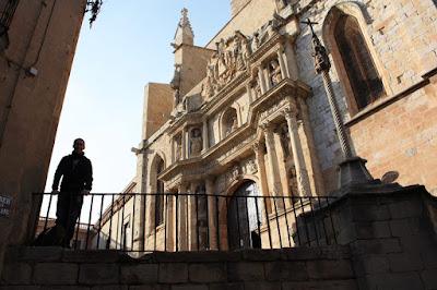 Main facade of Montblanc church