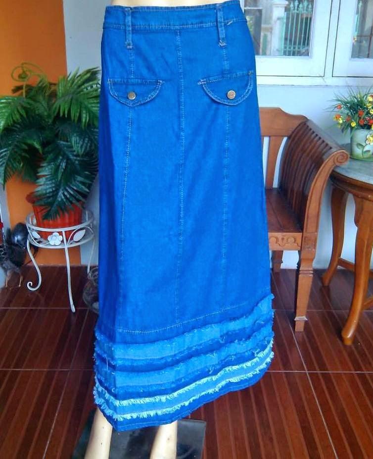 Rok Jeans Muslimah Panjang RM299