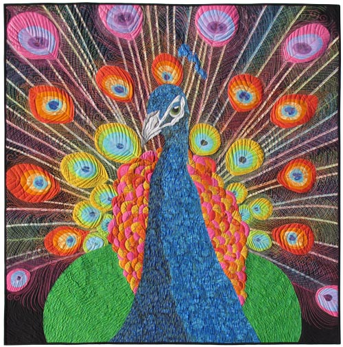 """Blue Moon River: """"Psychedelic Peacock"""" is done!"""