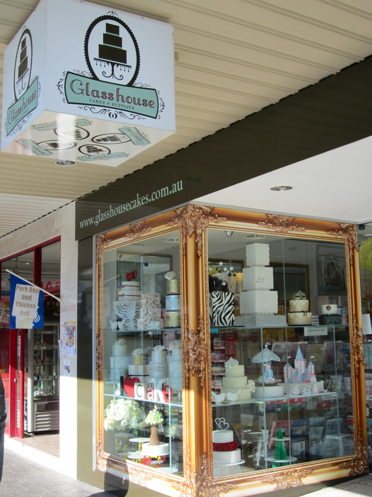 Cake Decorating Revesby : Made with love: Glass House (cake and supplies)