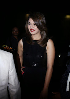 Actress Hansika Motwani Latest Pictures in Black Dress at iphone 6 Launch  2.jpg