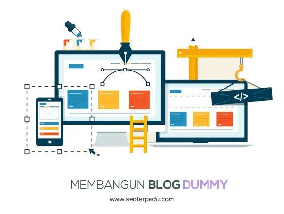 Cara Membuat Web Blog Dummy