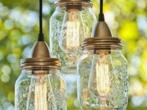 Construire retaper for Lampe pot de confiture