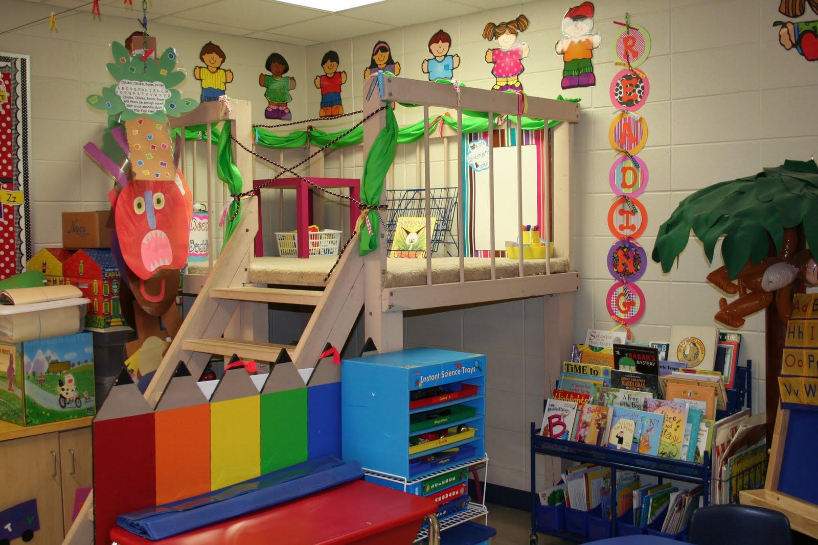 Classroom Loft Ideas ~ Mrs lee s kindergarten new classroom pics