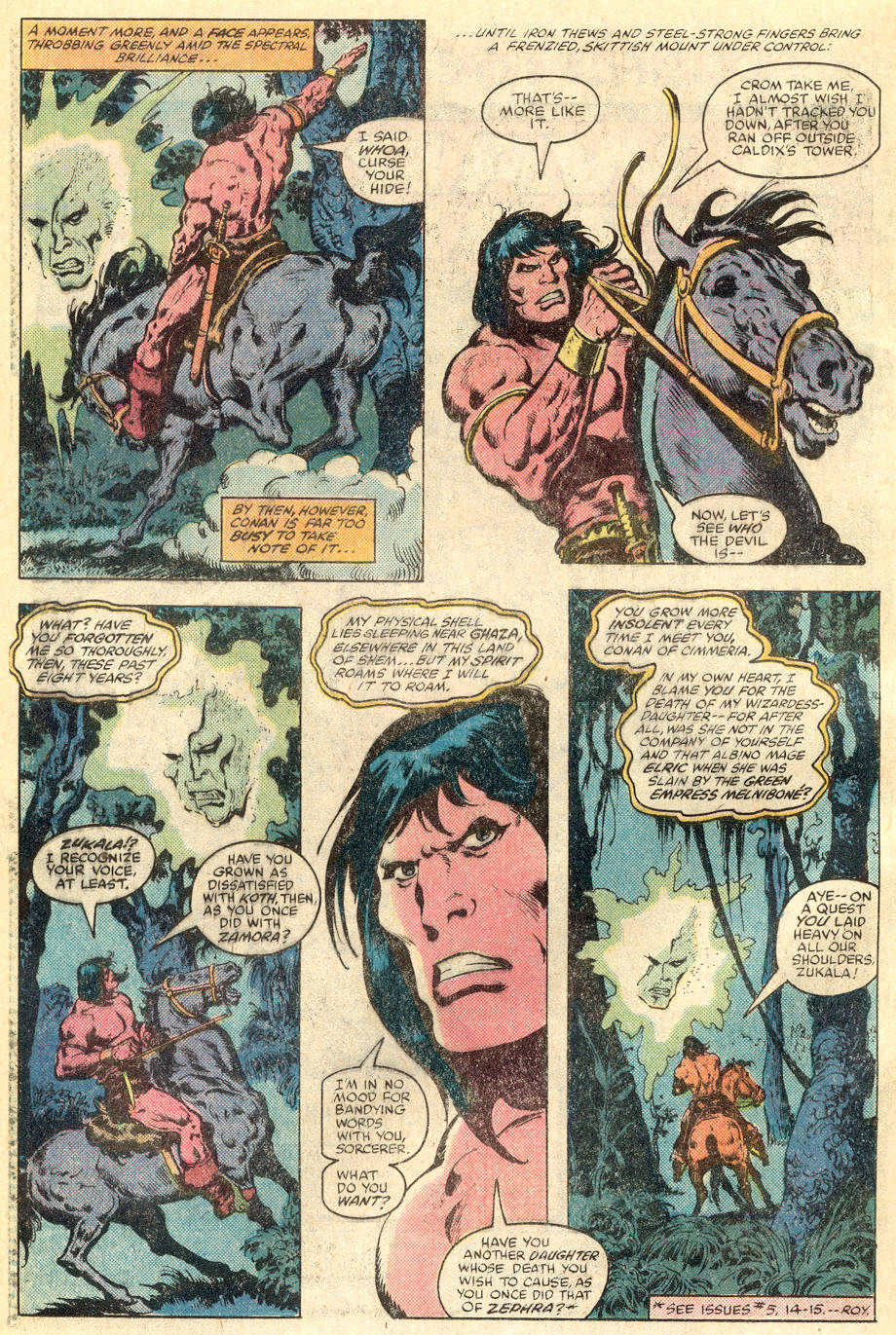 Conan the Barbarian (1970) Issue #115 #127 - English 3