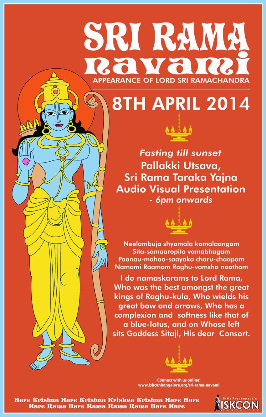 Rama Navami, ISKCON Bangalore, iskcon festivals