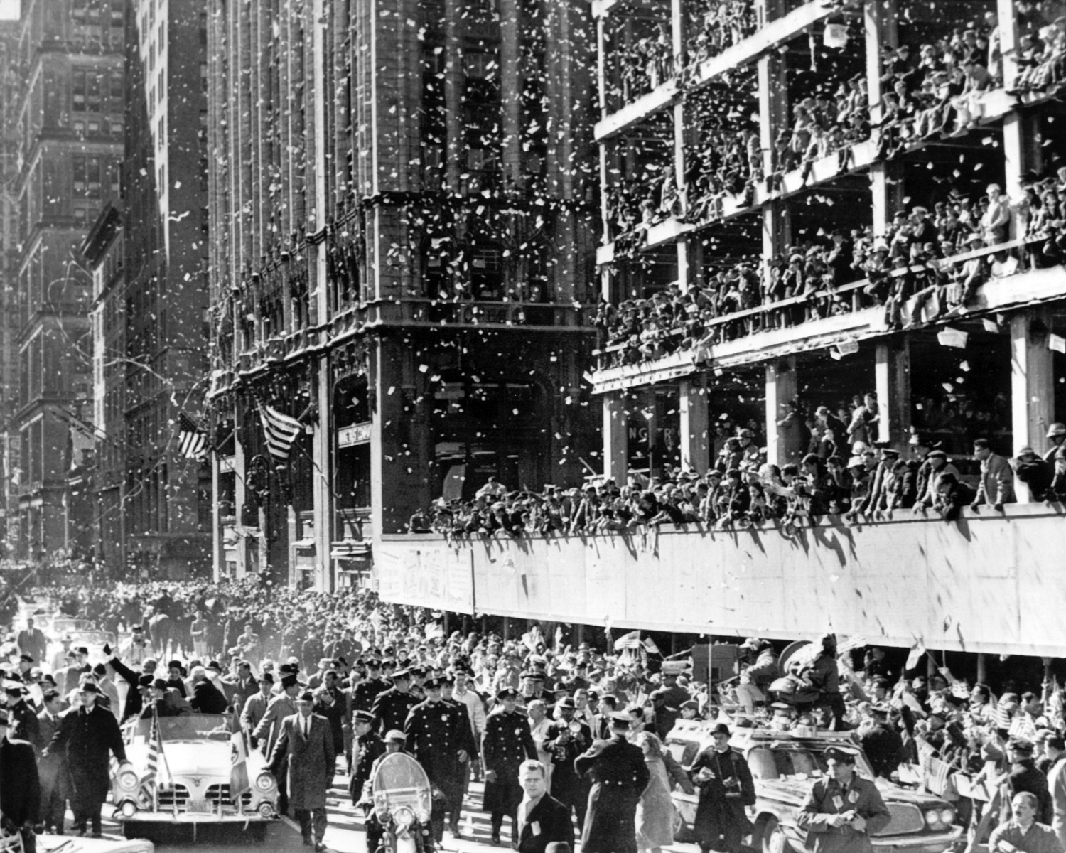 Image result for john glenn new york parade