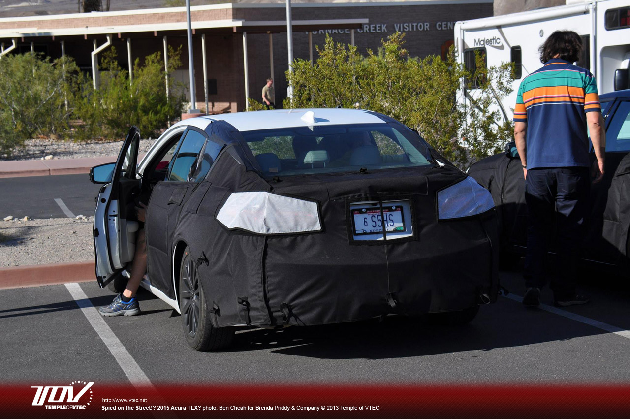 Temple Of Vtec >> Hondayes Temple Of Vtec 2015 Acura Tlx Spyshots