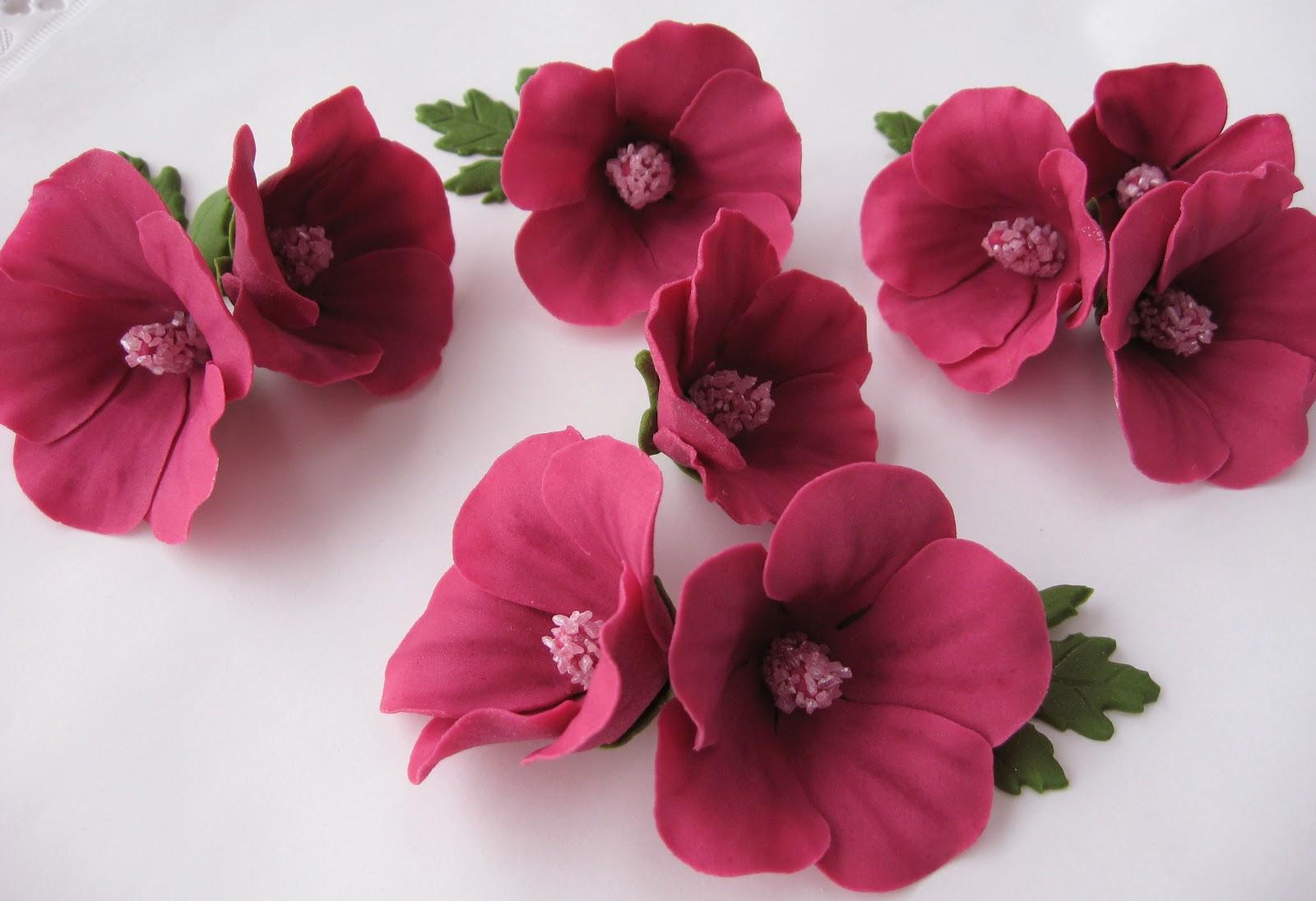 Лепка из мастики цветы фото