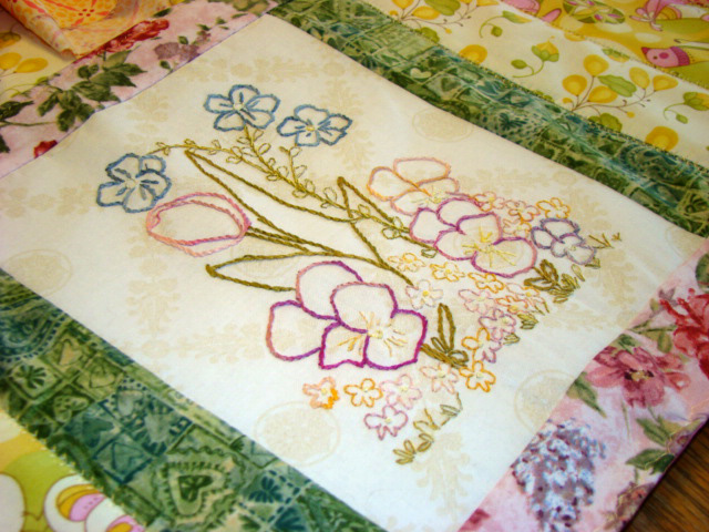 Country Garden Stitchery: Tulip Garden Embroidery and Victorian Cards