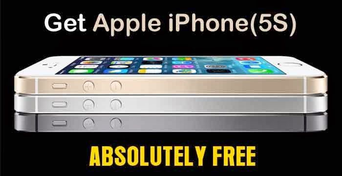 Get Apple iPhone Free