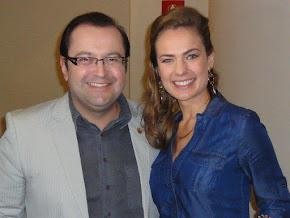 Antonio Carlos Gomes e Thais Pacholek