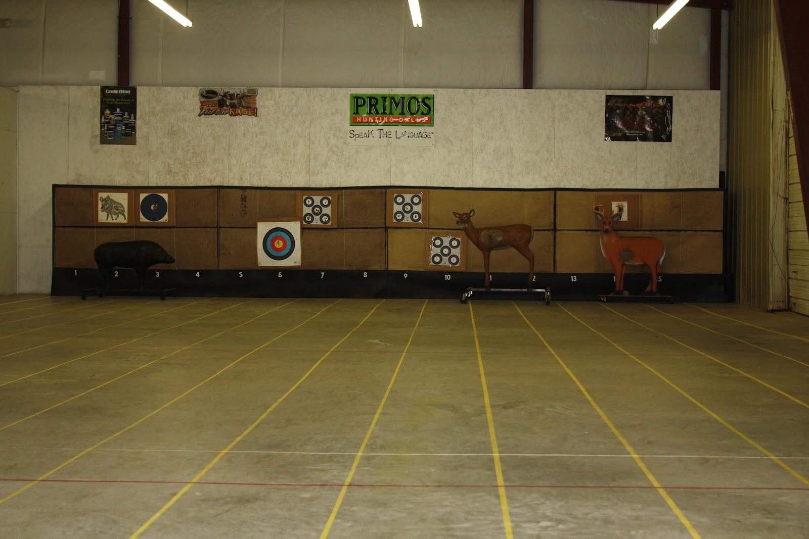 Setting Up Backyard Archery Range :   Grand opening success at Saluda River Archery indoor range