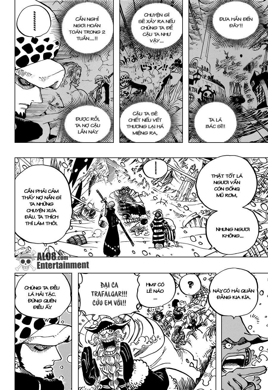"""One Piece Chapter 663: """"CC"""" 004"""