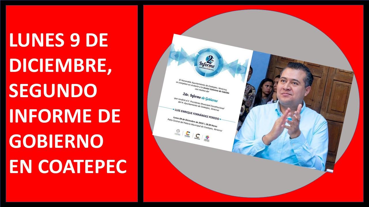 INFORME DE GOBIERNO EN COATEPEC
