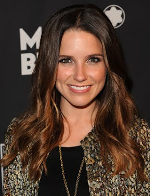 Sophia Bush Wavy cropped Hairstyle