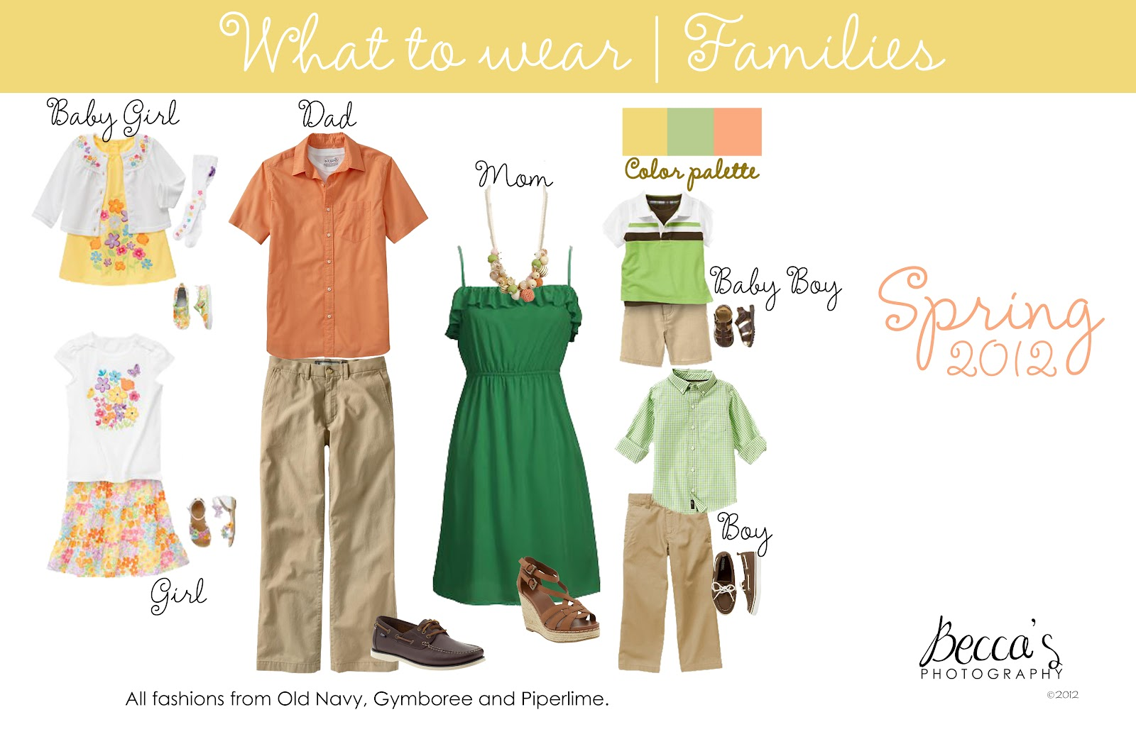 Rebecca Báez Photography: What to wear   Family Portrait Outfits