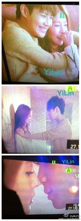 Screencaps of Taemin in Boa's Disturbance mv 5