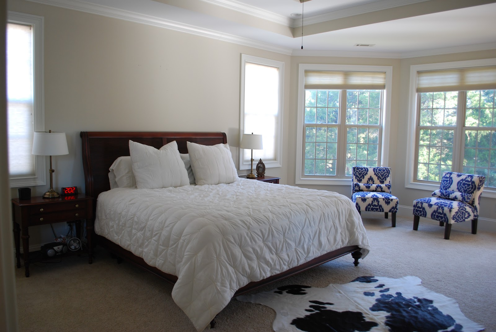 Before And After A Master Bedroom E Design Project