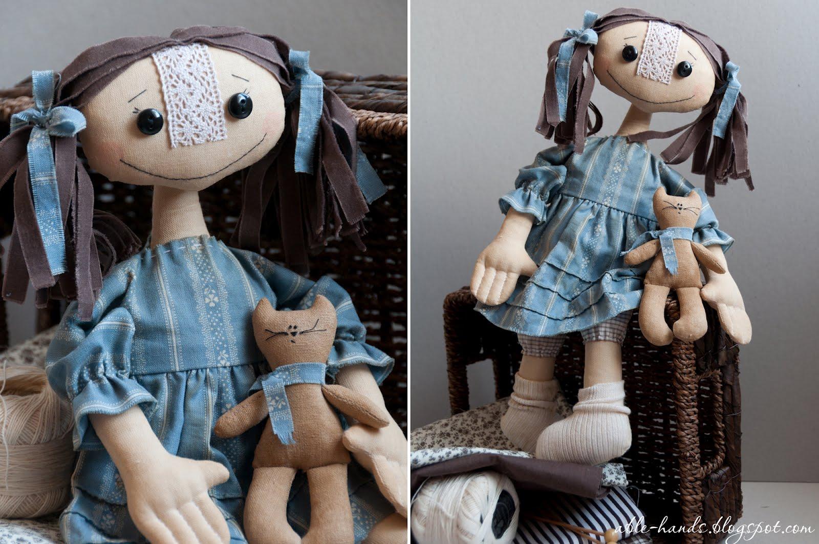 Примитивная кукла выкройка