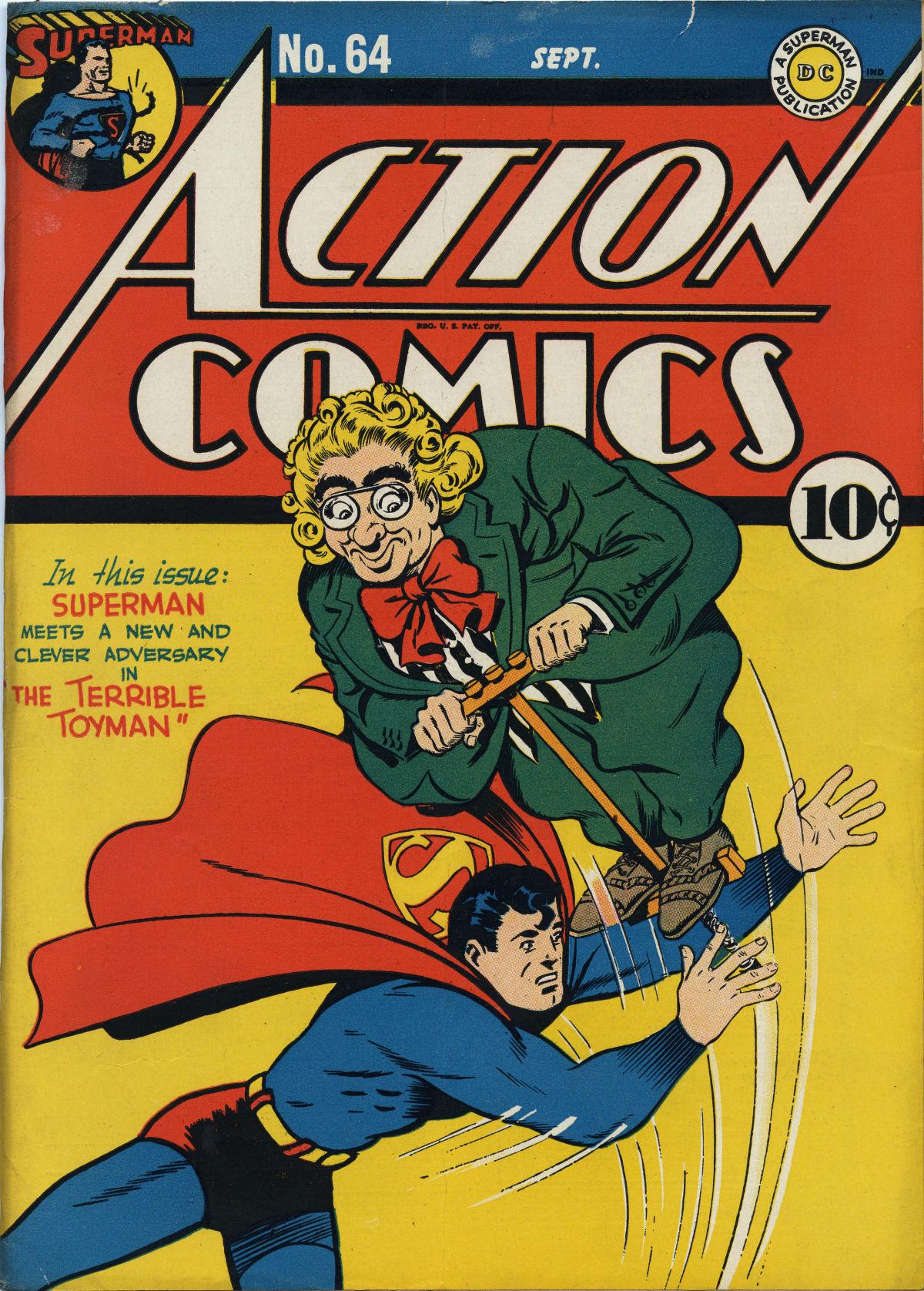 Action Comics (1938) 64 Page 1