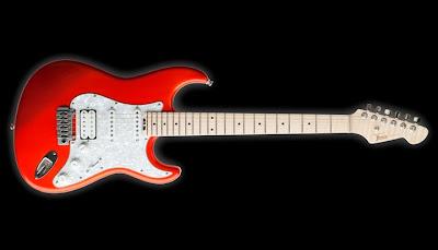 Thomas Guitars of Italy Strat-type