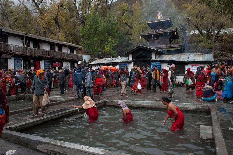 Image result for muktinath temple nepal inside