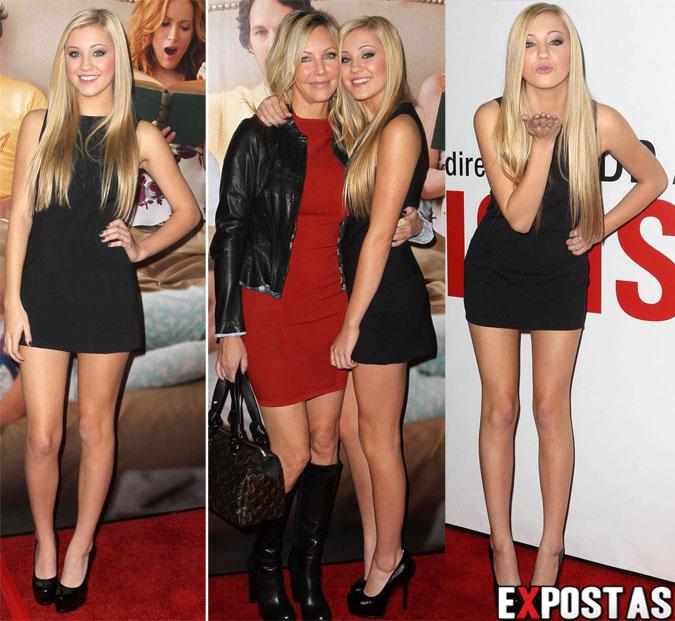 Ava Sambora: 'This Is 40' Première em Hollywood - 12 de Dezembro de 2012