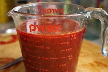 It's not really blood, it's blood orange juice, silly.