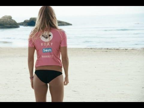 Roxy Pro Biarritz 2013 Official Teaser - WhoAmIJustGuess