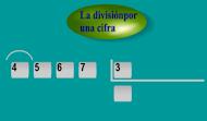 División 1 cifra