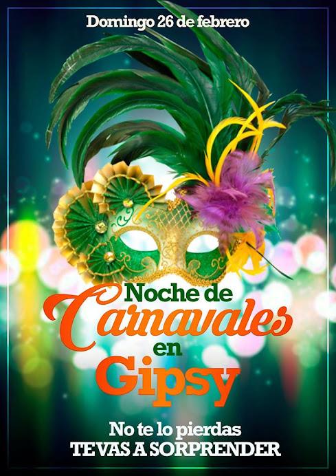 ESPACIO PUBLICITARIO: CARNAVALES EN GIPSY