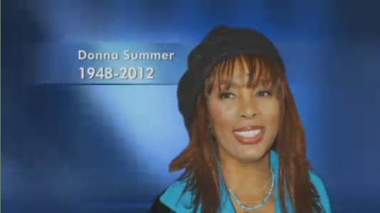Donna Summer's Funeral Program