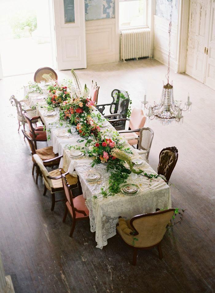 mesa especial vintage